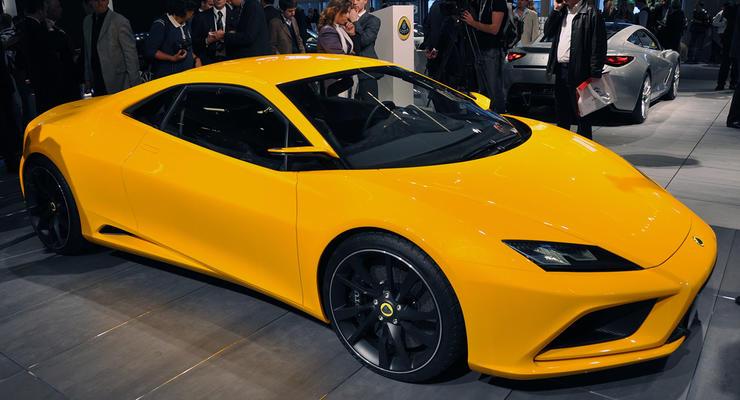 Парижский автосалон: Lotus привез пять новых спорткаров