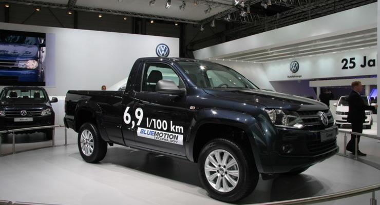 Volkswagen Amarok признали лучшим пикапом 2011 года