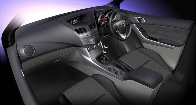 Mazda показала новый интерьер пикапа BT-50
