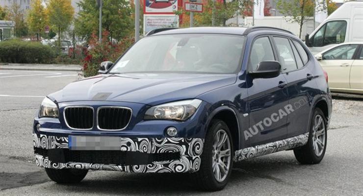 BMW примеряет спортивный обвес для внедорожника X1
