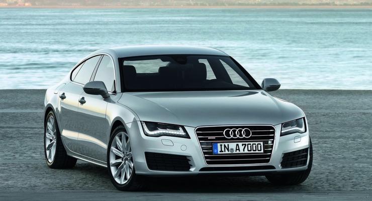 Audi A7 Sportback появилась в Украине