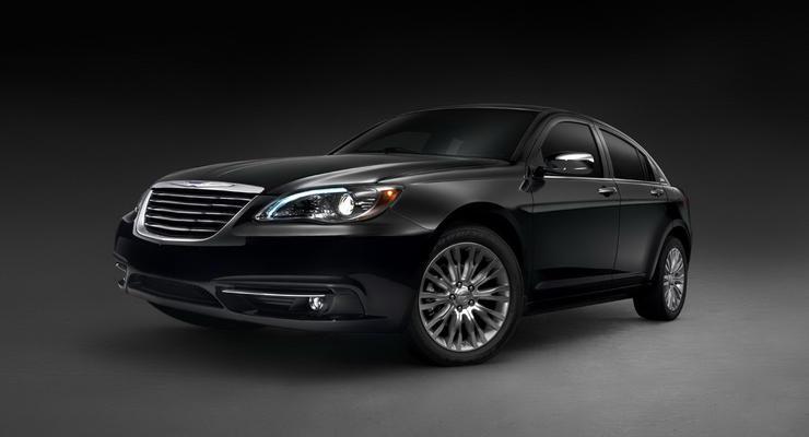 Chrysler рассекретил новый седан