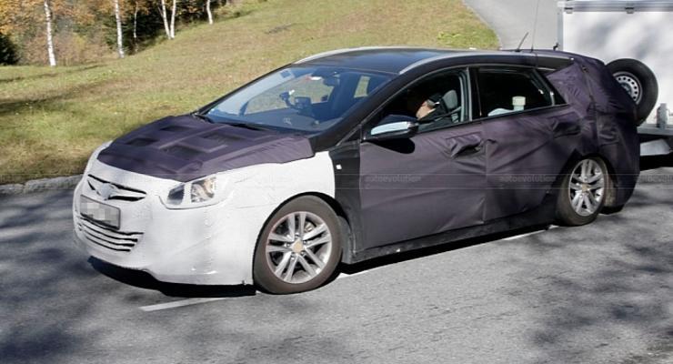 Универсал Hyundai Sonata проходит испытания