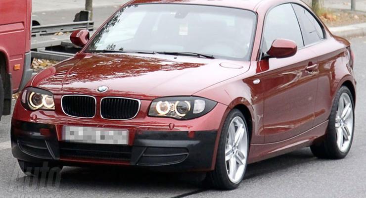 BMW тестирует обновленное купе 1-Series
