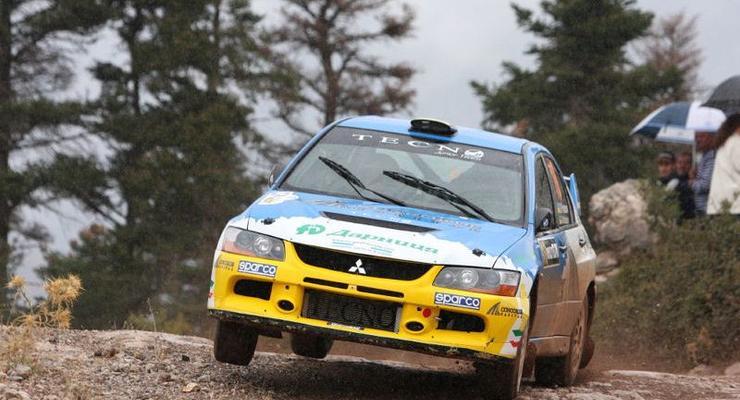 Украинцы впервые выиграли этап чемпионата Европы по ралли