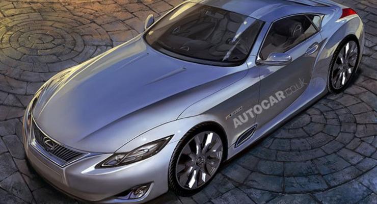 Lexus сделает из седана LS купе-кабриолет