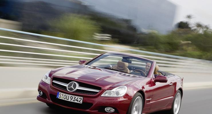 Любители быстрой езды чаще всего водят Mercedes-Benz