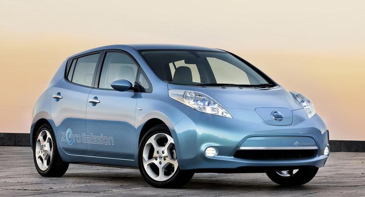 Nissan начал производство электрокаров