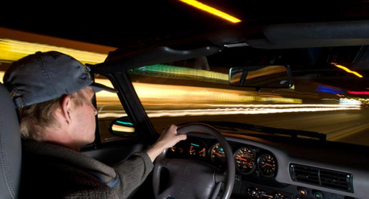 Каждый пятый американец боится водить по ночам