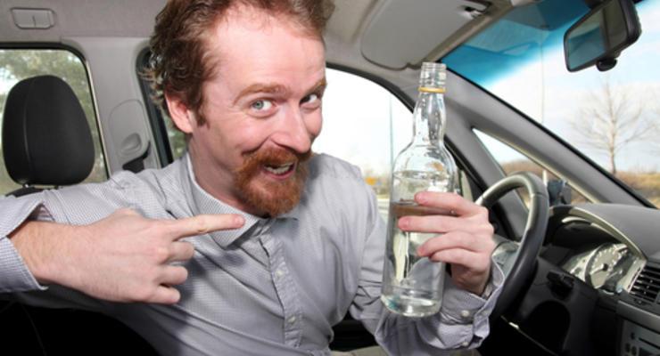 ГАИ хочет поднять штрафы за вождение в пьяном виде