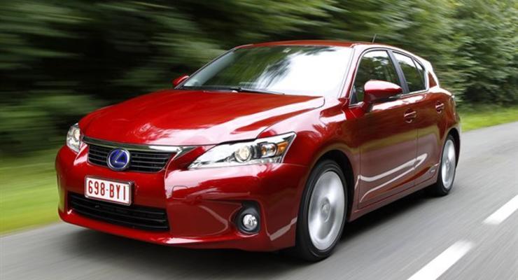Lexus оценил новый гибрид в 27 тысяч евро