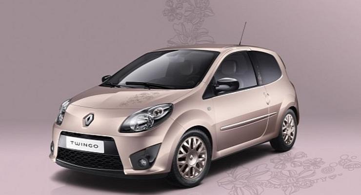 Renault выпустит модель для девушек