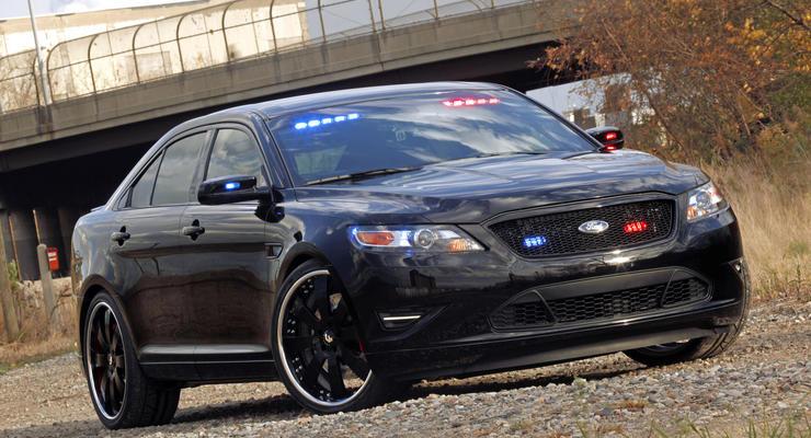 Ford показал новый полицейский автомобиль
