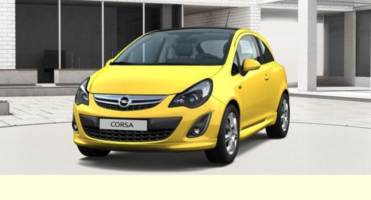 Обновленный Opel Corsa показался в Facebook
