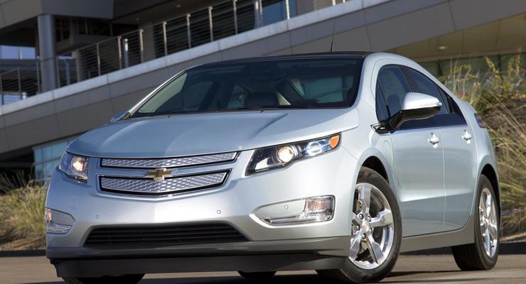 Chevrolet Volt – автомобиль года в США