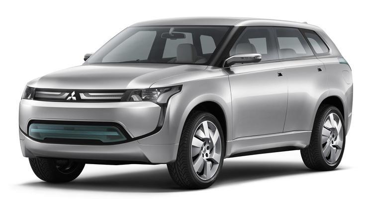 Mitsubishi готовит свой первый гибридный внедорожник