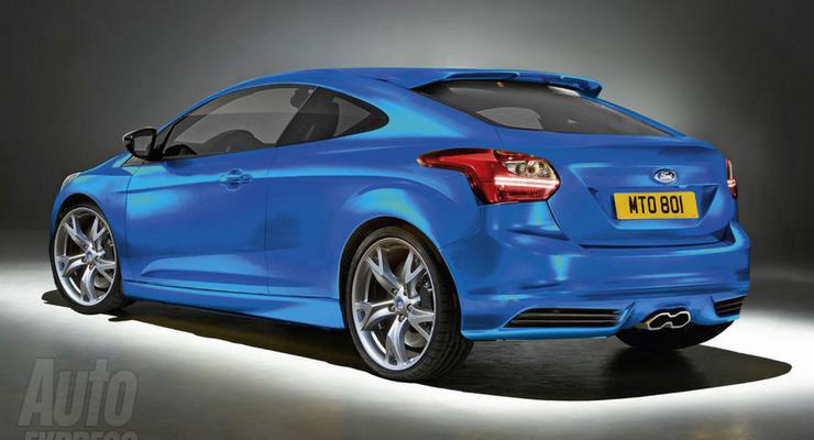 Купе Ford Focus представят в январе