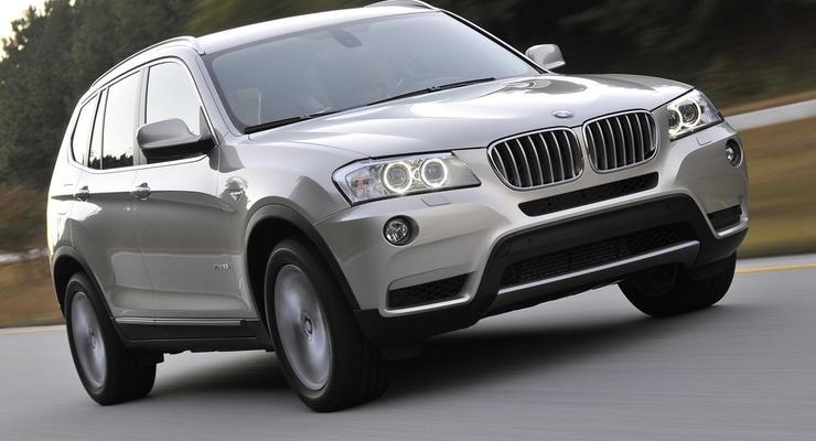 BMW предлагает украинцам поездить за новый X3