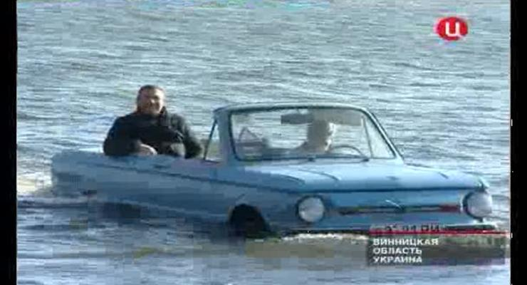 Заподовец - моторный катер на базе Запорожца