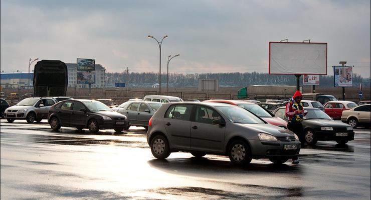 В Киеве протестировали альтернативную дорогу