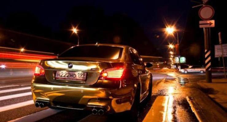 Золотые автомобили – шик или безвкусица?
