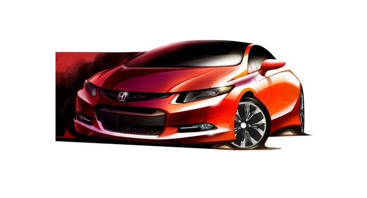 Новое поколение Honda Civic готовят к премьере