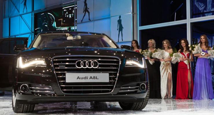 Мисс Украина Вселенная прокатилась на новом Audi
