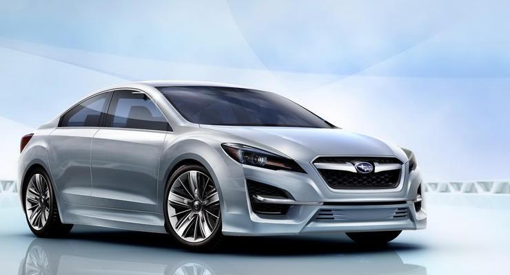Новая Subaru Impreza  - следующей осенью в Украине