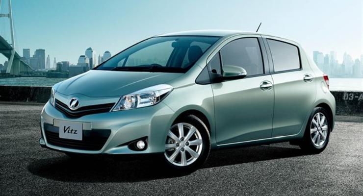 Первые официальные фото нового Toyota Yaris