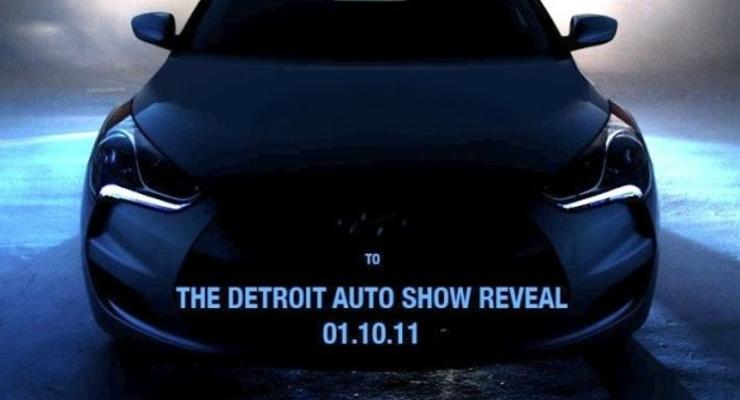Первое изображение нового купе Hyundai