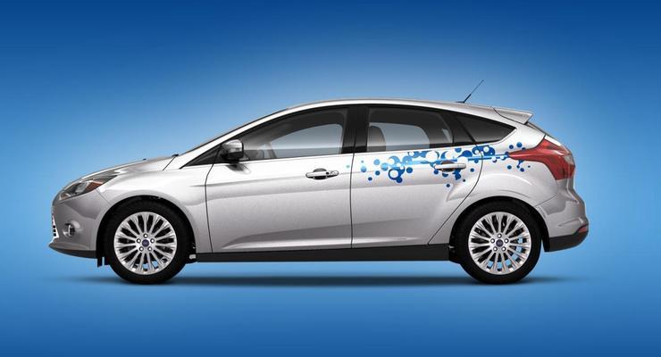 Виниловая графика для нового Ford Focus