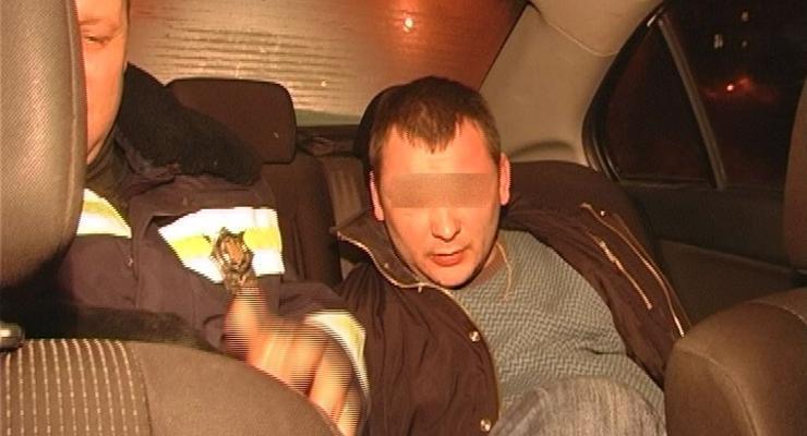 В Киеве задержали машину с пьяными милиционерами