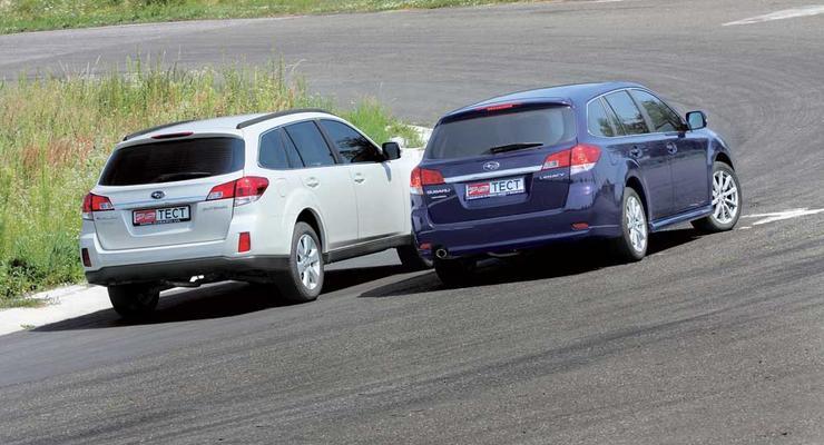 Братья-универсалы: Subaru Outback и Subaru Legacy