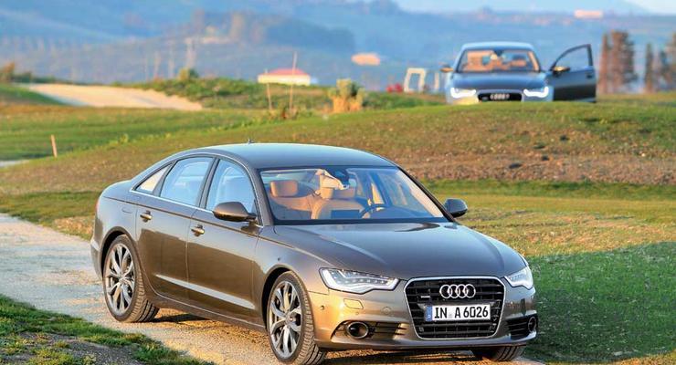 Тест-драйв Audi А6 нового поколения