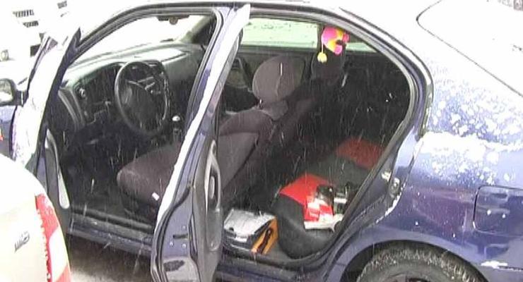 Задержан автомобиль с побитыми подростками в багажнике