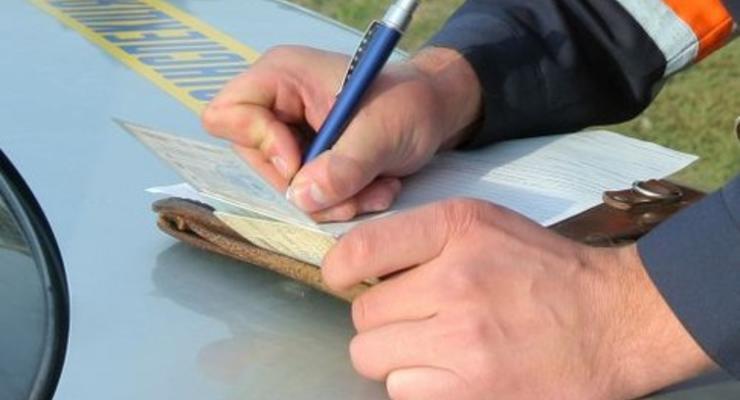 Украинцы стали меньше нарушать правила движения