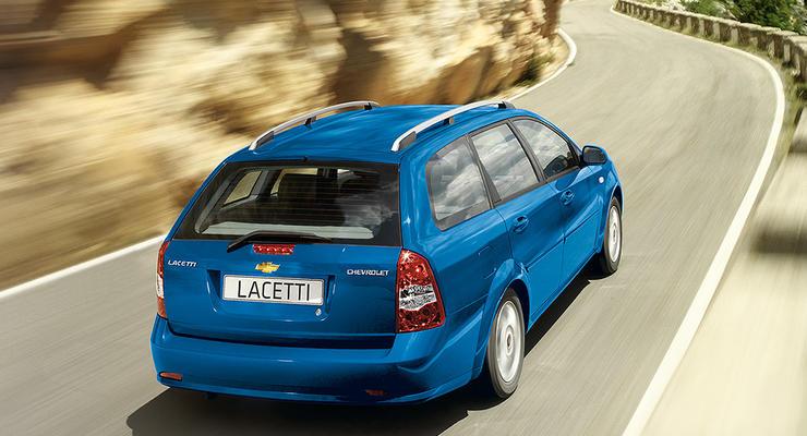 Универсал Chevrolet Lacetti снова завезли в Украину