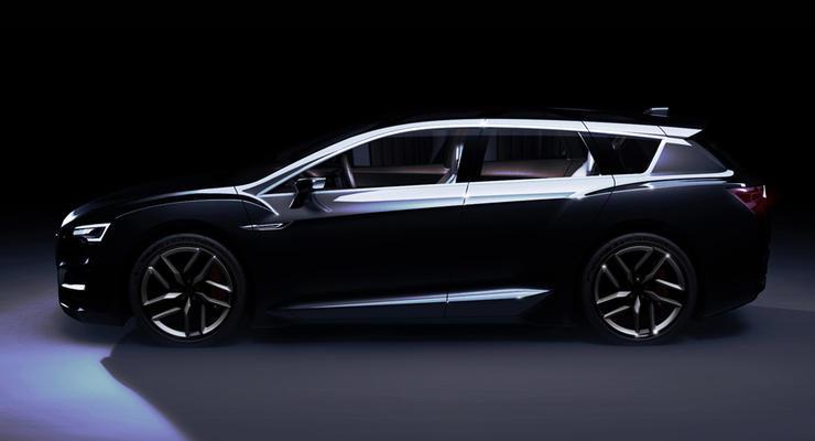 Subaru показала дизайн будущей Legacy