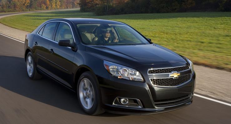 Новый Chevrolet Malibu представят в Украине в мае