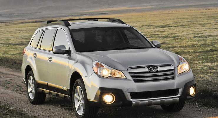 Subaru Legacy и Outback получили новые двигатели