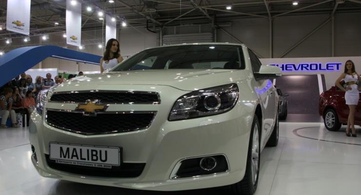 SIA 2012: Chevrolet привезла новый седан класса Сонаты