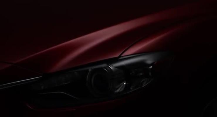 Новая Mazda6 показала лицо за два месяца до премьеры