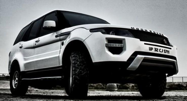 Индийский кроссовер превратили в копию Range Rover