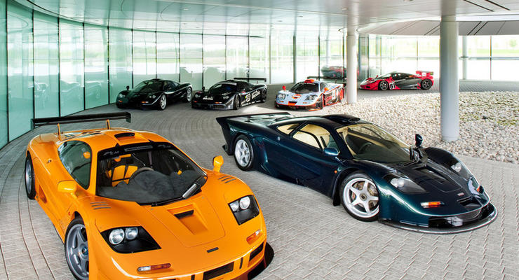 Преемник McLaren F1 по мощности сравнится c Bugatti