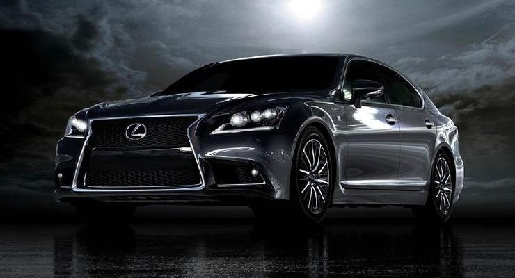 Китайцы рассекретили новый дизайн седана Lexus LS