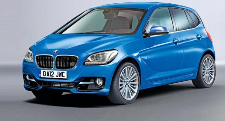 Какой будет первая модель BMW c передним приводом