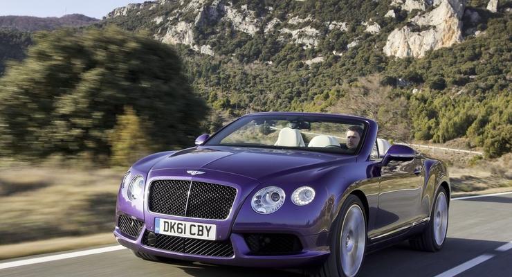 Новый Bentley за 200 тысяч евро скоро привезут в Киев