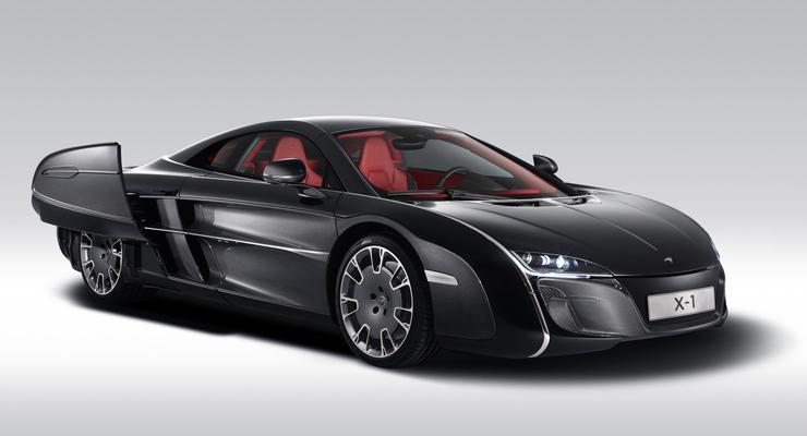 Уникальный суперкар McLaren сделали по заказу клиента