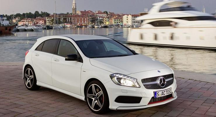 Названы украинские цены на новый Mercedes A-Class