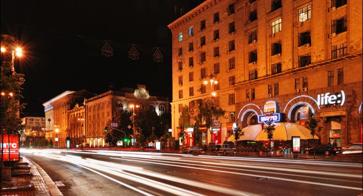 Центр Киева перекроют для празднований уже в четверг